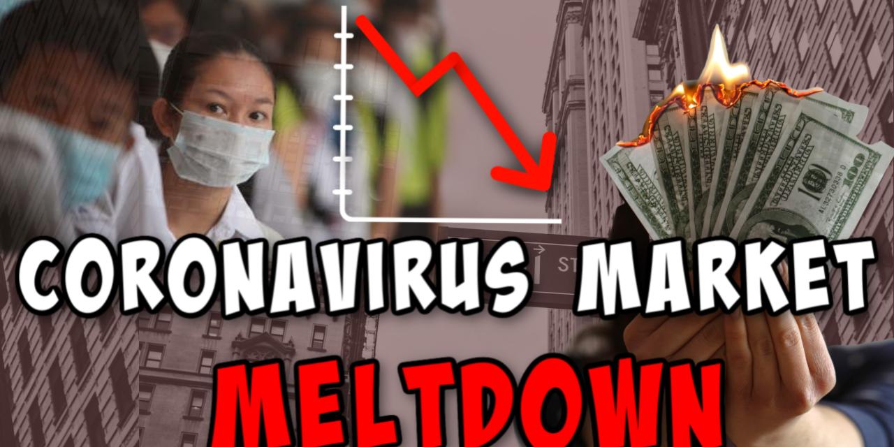 Coronavirus stock market crash   What should you be doing right NOW?
